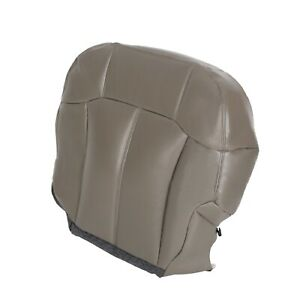 Driver Bottom Leather Seat Cover For 1999 2002 Chevy Silverado Tahoe Suburban
