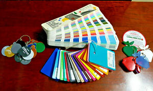 Pantone Color Formula Guide Coated Uncoated Set Of Plastic Metal Finishes