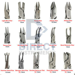 Medentra Professional Dental Pliers Orthodontic Braces Wire Bending Loop Forming