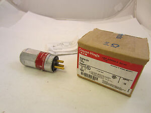 Crouse Hinds Enp5151 Explosion Proof 15 Amp 120v Plug New In Box