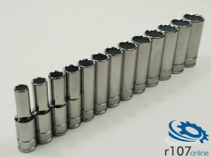 Blue Point 3 8 Deep Socket Set 8mm 20mm Incl Vat As Sold By Snap On
