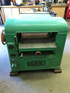 25 Inch Planer Bauerle 460v 3phase Great Condition