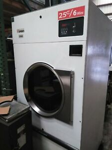 Used Ipso Bto75 75 Pound Gas Commercial Dryer Coin Laundry