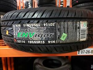 Yokohama Tires Avid Envigor 1956515 91h New Old Stock 195 65r15 Y32114