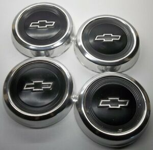 1984 Thru 1991 Chevrolet 1500 Pickup Truck Van 10 5 Dog Dish Hub Caps Lot Of 4