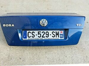 Mk4 Volkswagen Jetta Bora 1 9 Tdi European Rear Blue Trunk Boot Lid Cover Oem