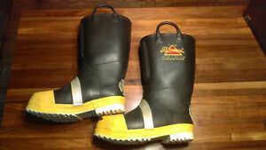 Thorogood Hellfire Steel Toe Firefighter Safety Fire Boots Mens Size 12 Med