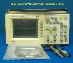 Agilent Hp Keysight Dso3062a 2 ch Digital Storage Oscilloscope 60 Mhz