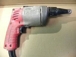 Milwaukee Drywall Screw Gun screw Shooter Model 6753 1 Double Insulated