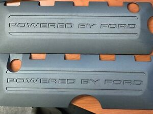 2011 2017 Ford Mustang Powered By Ford Gray Engine Coil Covers Pair