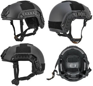 Maritime FAST Tactical Advanced Helmet ML + Accessories in Black CA-805B