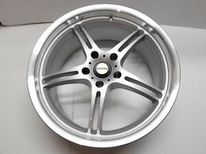 Axis Sport Xgt Wheel Silver With Machined Lip 19x8 5 5x120 Et45 A Nla