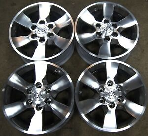New Takeoff Toyota Tacoma 4runner 17 Factory Oem Alloy Wheels Rims 69562 1621