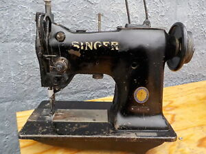 Industrial Sewing Machine Model Singer 151w1 Single Walking Foot Leather