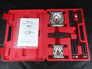 Pittsburg 93980 Puller Bearing Separator Set With Case And Instructions