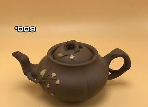 Ceramic China Antique Clay Teapot Chinese Flower Yixing Handmade