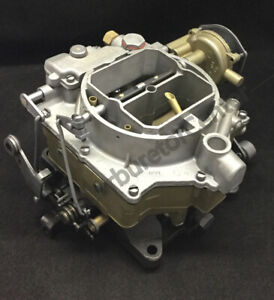 1957 Chevrolet Carter Wcfb Carburetor Remanufactured