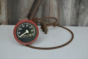 Vintage Speedometer Jeep Ford Willys Army Military With Cable K S 40904