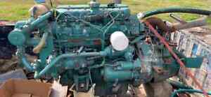 1994 Volvo Md21b Marine Diesel Engine 4 Cylinder 90 Hp 1 5 1 Transmission