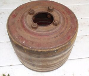 Farmall Ihc International Harvester Tractor Belt Pulley Maybe Fits M