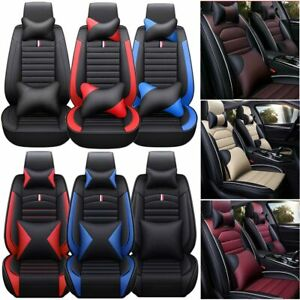 Deluxe 4season Seat Covers For Car Sit Covers Sedan 5 Sit Cushion Front Rear Set