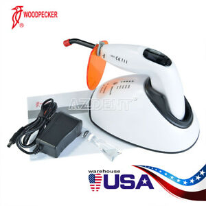 Woodpecker Led f Dental Led Curing Light Teeth Whitening Function 1800mw cm