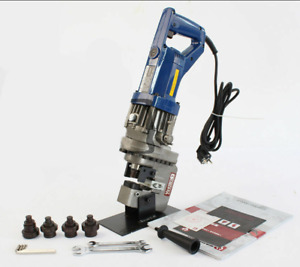 Electric Hydraulic Hole Puncher Steel Plate Hole Punching Machine New J