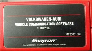 Snap On Volkswagen Audi Primary Cartridge For Mtg2500 And Mt2500 Scanners