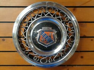 1953 Buick Straight 8 15 Wire Spoke Wheel Cover Hubcap