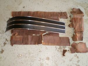Nos Gm New 54 1954 Pontiac Chieftain Molding Trim Trunk Molding Decklid Lid 54