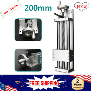 Cnc Milling Xyz Axis Sliding Table 400mm Linear Rail Stage Cross Slide Lock
