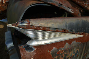 1959 Dodge Royal And Others Right Rear Tail Fin Ornament Insert