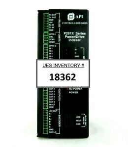 Api Controls Division P261x Power drive Indexer Plasma therm Clusterlock Spare