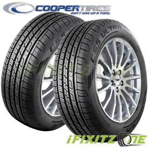 2 Cooper Cs5 Ultra Touring 195 65r15 91h All Season Real Life Performance Tires