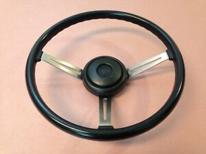 Jeep Cj Steering Wheel Cj5 Cj7 Cj8 Factory 15 Amc Black J10 Cherokee Eagle