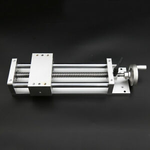 400mm Electric Sliding Table Ball Screw Linear Stage Cnc Slide Stroke C7 New