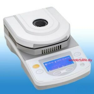 Lab Halogen Heating Moisture Analyzer 50g Capacity 10mg Readability