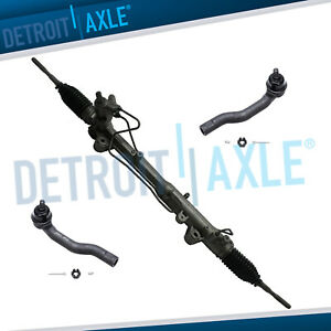 For 2007 2014 Ford Edge Lincoln Mkx Power Steer Rack And Pinion Outer Tie Rods