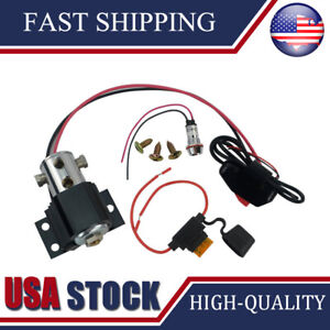 Universal Heavy Duty Front Brake Line Lock Electric Hill Roll Control Holder Kit