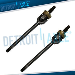 Pair 2 Front Axle Shaft For 1994 1999 2000 2001 Dodge Ram 1500 U joint Dana 44