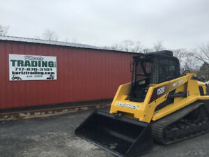 2007 Asv Rc85 Compact Track Skid Steer Loader W Cab No Door High Flow