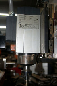 Sm c73 2 6 Hp 18 000 Rpm Manual Spindle Router Motor Er Collet 18000rpm