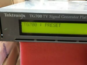 Sony Tektronix Tg700 Tv Signal Video Generator Platform