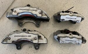 Porsche Cayenne Audi Q7 Calipers Brembo 18zr Front Rear Left Right 18 Zl 18 Z