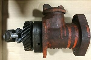 Case Sc Tractor Governor With Oil Cap