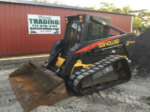 2005 New Holland Lt185 b Compact Track Skid Steer Loader W Cab