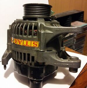 High Current Alternator Nippon Denso Plymouth Dodge Chrysler 210a