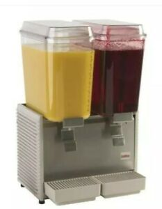 Crathco D25 4 Refrigerated Premix Cold Beverage Dispenser Double Base Only