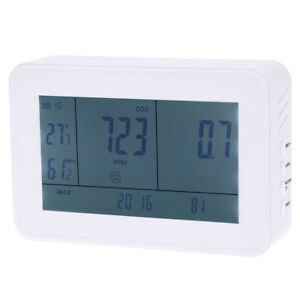 Co2 Carbon Dioxide Data Logger Temperature Meter Humidity Monitor 0 9999ppm D5h6