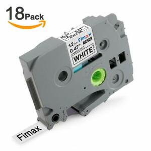 Replace Ptd 600 Label Maker Tape For Brother P touch Tze 231 Tz 231 Tze231 18pk